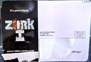 Zork PostCard7 Front PawnTakesPawn