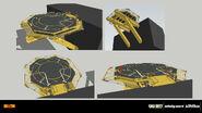 Landing pad concept IW