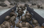 Call of Duty 2 the battle of pointe