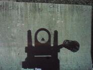 M240 Iron Sights MW3
