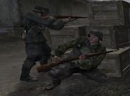 Germans Fighting
