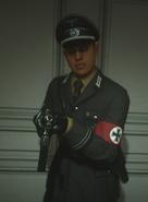 Gestapo soldier gun point WWII