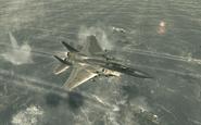 F-15 Eagle in Hamburg Goalpost MW3