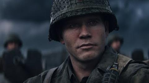 "Call of Duty® WWII – Meet the Squad ""Red"" Daniels"