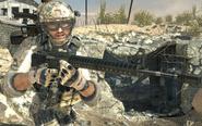 M16A4 Third person MW3