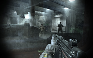 Ambushing enemy ship crew members Crew Expendable CoD4