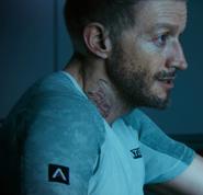 Gideon Union Jack tattoo AW