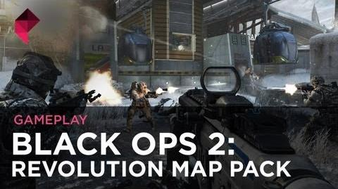 "Call of Duty Black Ops 2 - Revolution ""Downhill"" map gameplay"