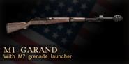 M1 Garand M7 CoD 3