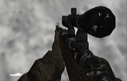 Kar98k sniper scope WaWFF