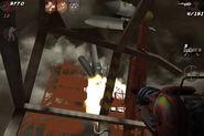 Rocket destroyed Ascension BOZ