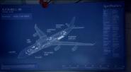 Il-96-300PU blueprint