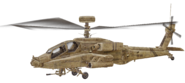 AH-64 Apache cut model desert CoD4