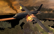 C-130 going down