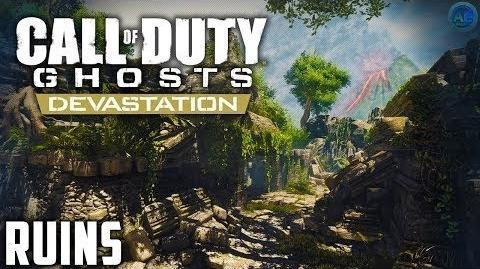 """COD Ghosts (Devastation DLC) """"Ruins"""" Gameplay"""