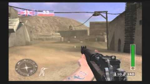 Call of Duty Finest Hour PS2 online 16 03 14, Cristian Event pmaster gameplay.