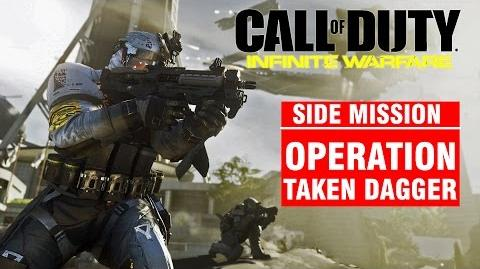 Call of Duty Infinite Warfare Side Mission - Operation TAKEN DAGGER Campaign Gameplay Walkthrough