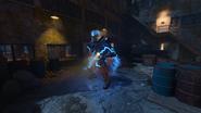 Most Escape Alive krok 5 atakowany Brutus