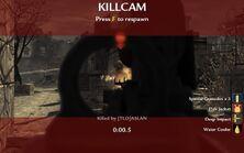 World at war killcam