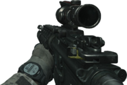 M4A1 ACOG Scope MW3