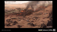 Mars Retribution crash concept art IW