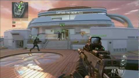 Call of Duty Black Ops 2 - Capture The Flag Game 1 (Wii U) ~ GREAT TEAMWORK!