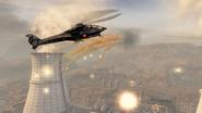 Stealth Chopper deploying flares BOII