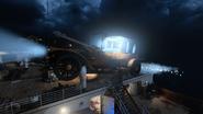 Tarcza balistyczna Voyage of Despair Tarcza Svalin latajacy samochod