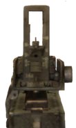M1919A6 .30 cal mounted in first person CoD2 BRO