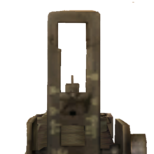 M1919A6 .30 cal mounted in first person CoD2 BRO.png