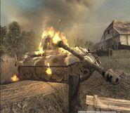 Tiger II Zniszczony