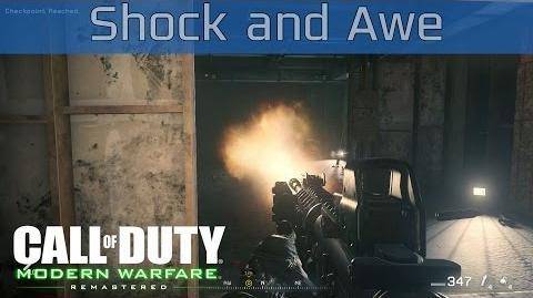 Call of Duty 4 Modern Warfare Remastered - Shock and Awe Walkthrough HD 1080P 60FPS