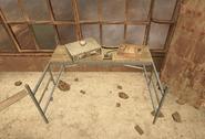Nav table buried
