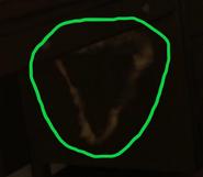 Upside down triangle Abandon Ship BO4