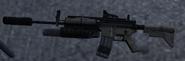 M4A1 SOPMOD 3rd person MW2