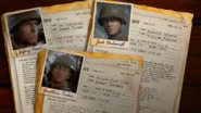 WWII Character Info