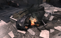 Crashed Littlebird Scorched Earth MW3