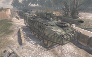 Two M1128 MGSs Team Player MW2