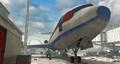 Zakhaev Int Airport - docked airplane