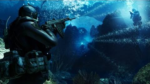 Call of Duty Ghosts - Into the Deep E3 2013 Gameplay HD E3M13