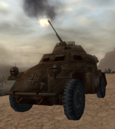Sd. Kfz. 222 anti-aircraft CoD WaW FF