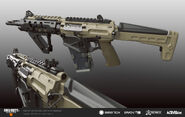 Black Ops 4 Echohawk Dual Bore Concept Art