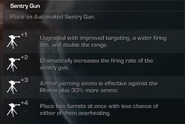 Sentry Gun menu Extinction CoDG