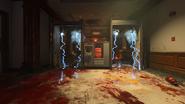 Elektryczna pulapka Classified opuszczony korytarz
