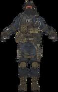 FBI Assault model BOII