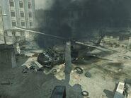 Blackhawk Crashed Bakaara MW3