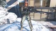 Outrider in-game third-person BO3