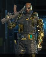 Prophet Hero outfit BO3