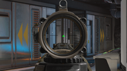 Recon Scope zoomed in green recticle BO4