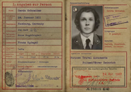 Rousseau Fake ID Papers WWII
